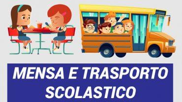 Mensa e trasporto scolastico, il Comune rimborsa le spese per i periodi di chiusura delle scuole causa COVID
